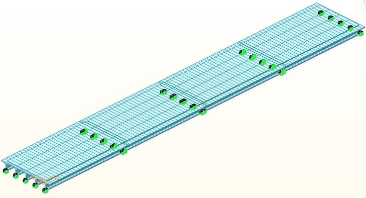 Continuous composite structure