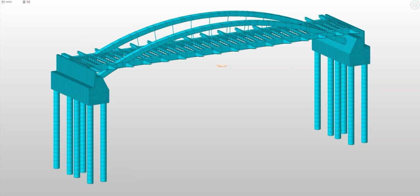 Bridge Model in midas Civil