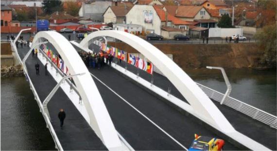 View of the Finalized Bridge 1