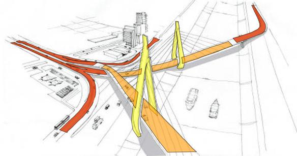 Planos preliminares puente Octávio Frias.jpg