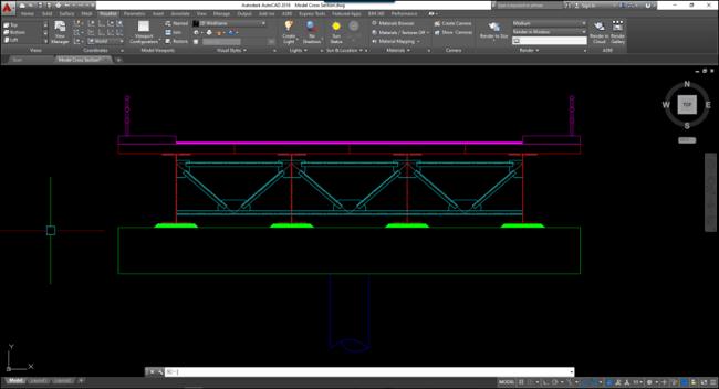 Image 1-1 Sample Bridge Cross Section