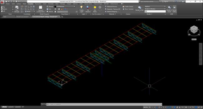 Image 1-2 Sample Bridge Geometric Mode