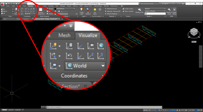 Image 2-4 AutoCAD Coordinate Systems