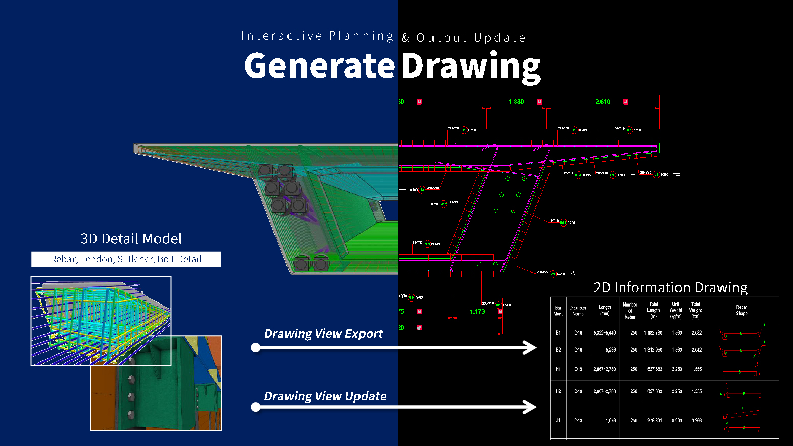 2D CAD Information Drawings