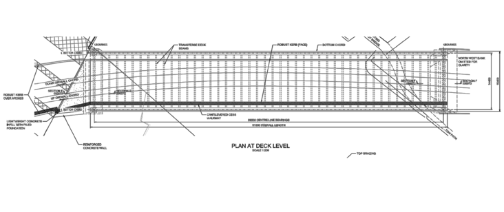 Detailed Design Drawing (© Network Rail)