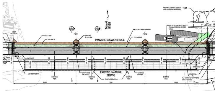 Plan View of Bridge