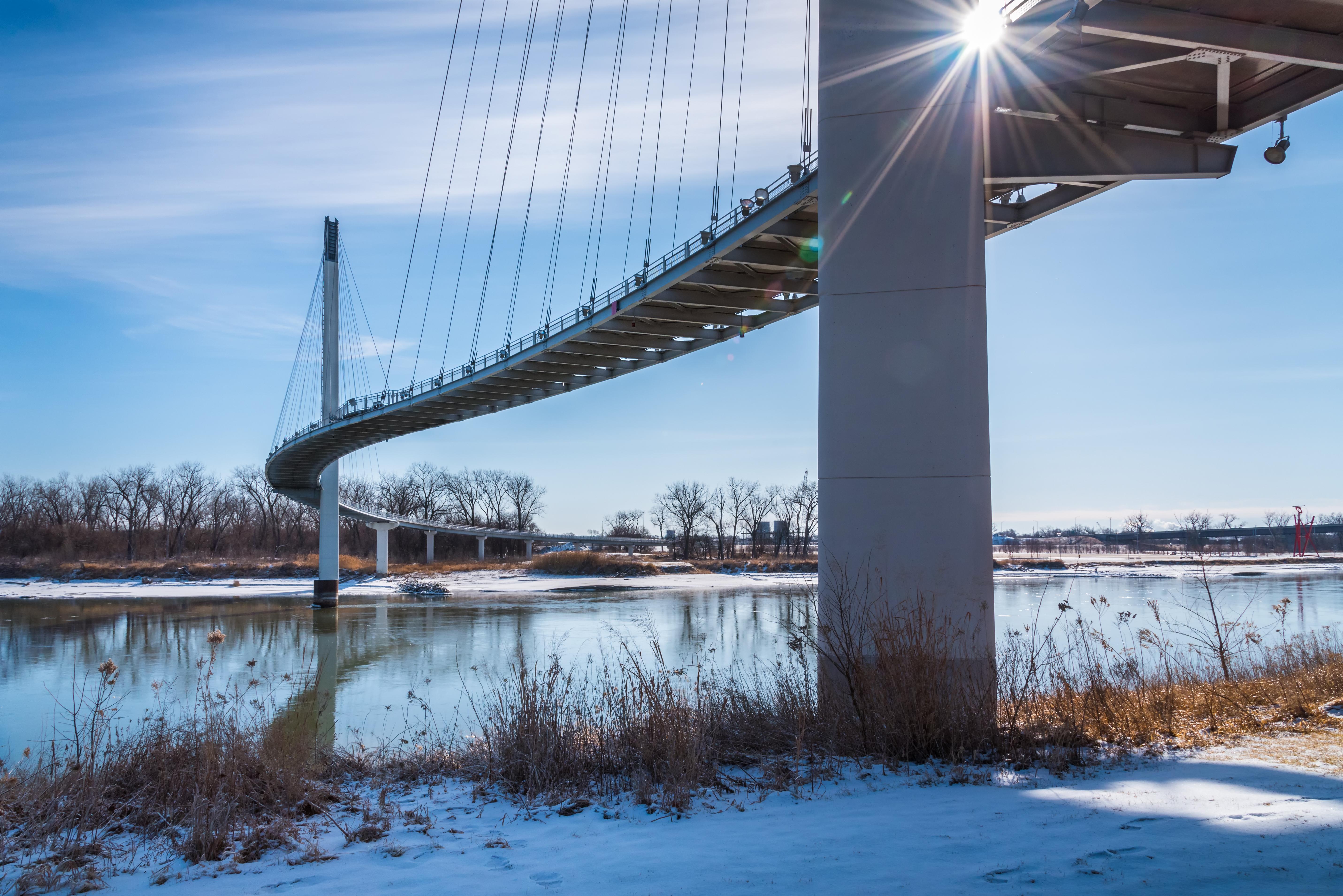 Figure 1: Bob Kerrey Pedestrian Bridge